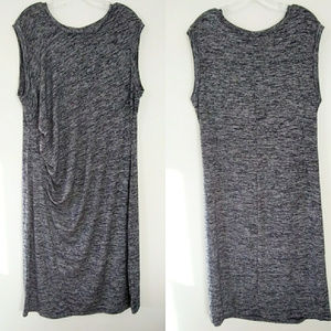 NWT GAP Sleeveless Knit Midi Dress Navy Blue XXL